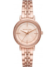Michael Kors MK3643 cinthia Ladies or rose plaqué montre bracelet