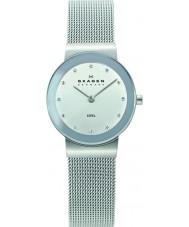 Skagen 358SSSD Mesdames Klassik argent chromé montre de maille