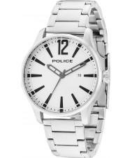 Police 14764JS-04M Mens dallas acier argenté montre bracelet