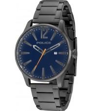 Police 14764JSU-03M Mens dallas gris acier montre bracelet