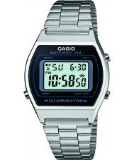 Casio B640WD-1AVEF collection Mens acier argenté montre bracelet