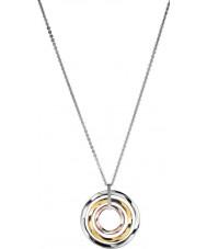 Calvin Klein KJ0KDP300100 Mesdames exclusif trois couleurs collier pendentif