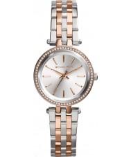 Michael Kors MK3298 Mesdames mini-darci deux tons de montre bracelet en acier