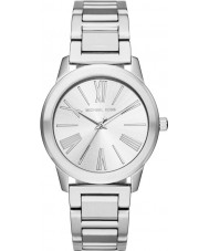 Michael Kors MK3489 Mesdames argent hartman montre bracelet en acier