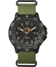 Timex TW4B03600 Mens expédition gallatin nylon vert montre bracelet