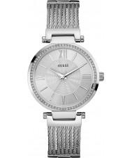Guess W0638L1 argent montre bracelet en acier pour dames