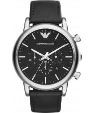 Emporio Armani AR1828 Mens chronographe classique montre noire