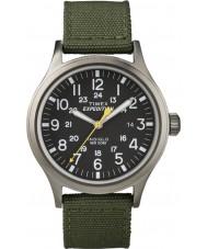 Timex T49961 Mens expédition de la montre verte scout