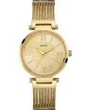 Guess W0638L2 plaqué or dames montre bracelet