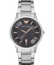 Emporio Armani AR2514 Mens robe argent montre bracelet en acier