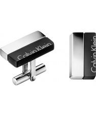 Calvin Klein KJ5RBC210100 Hommes Boutons de manchette boost
