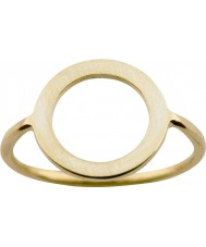 Nordahl Jewellery 125211-58 Mesdames anneau doré or - taille q