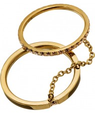 Edblad 41530045-M Mesdames brillants anneaux d'or - taille p (m)