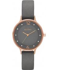 Skagen SKW2267 Mesdames ANITA gris montre bracelet en cuir