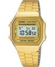Casio A168WG-9EF plaqué or classique de la collection montre numérique