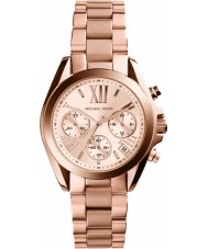 Michael Kors MK5799 Mesdames mini-bradshaw rose montre chronographe en or