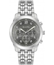Bulova 96D135 Mens montre en diamant