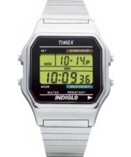 Timex T78587 Mens argent montre chronographe numérique classique