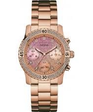 Guess W0774L3 confetti Ladies or rose plaqué montre bracelet