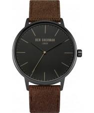 Ben Sherman WB009TB Mens portobello brune sociale montre bracelet en tissu