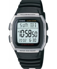 Casio W-96H-1AVES Collection montre alarme chronographe