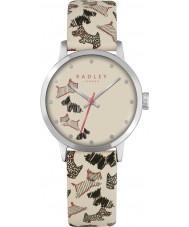 Radley RY2367 Mesdames rue flotte montre bracelet en cuir crème