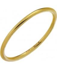 Nordahl Jewellery 125233-52 plaqué or dames bague dorée - taille l