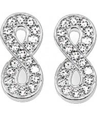 Thomas Sabo H1877-051-14 Mesdames zircone pave infini argent boucles d'oreille