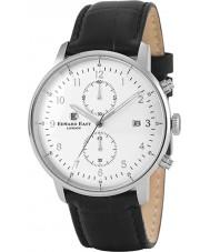 Edward East EDW1901G7 Mens cuir noir montre chronographe