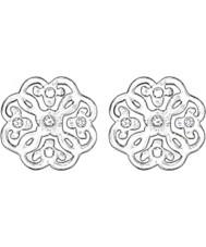 Thomas Sabo H1881-051-14 Mesdames filigrane d'argent arabesque boucles d'oreille