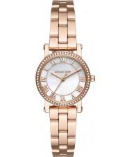 Michael Kors MK3558 Mesdames norie plaqué or rose montre bracelet