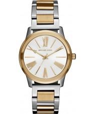 Michael Kors MK3521 Mesdames hartman deux tons de montre bracelet en acier