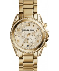 Michael Kors MK5166 plaqué or Ladies montre chronographe