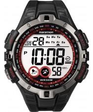 Timex T5K423 Mens rouge marathon noir montre de sport