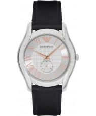 Emporio Armani AR1984 Mens cuir noir classique montre bracelet