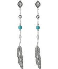 Thomas Sabo H1911-646-17 Ladies dreamcatcher argent ethno plumes boucles d'oreilles