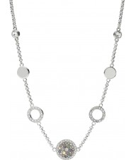 Fossil JF02312040 Mesdames paillettes millésime collier en acier d'argent