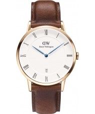 Daniel Wellington DW00100083 Mens 38mm dapper St Mawes montre en or rose