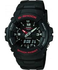 Casio G-100-1BVMUR Mens g-shock montre d'affichage de combinaison
