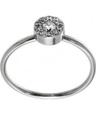 Edblad 41530065-M thassos dames mini-anneau en acier d'argent - taille p (m)