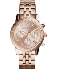 Michael Kors MK6077 Mesdames ritz plaqué or rose montre chronographe