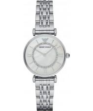 Emporio Armani AR1908 Mesdames argent maille plaqué montre habillée bracelet