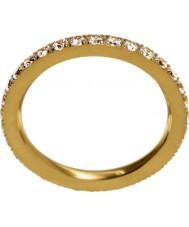 Edblad 216130151-M Mesdames lueur mat anneau d'or - taille p (m)
