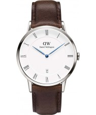 Daniel Wellington DW00100090 Mens 38mm dapper montre bristol d'argent