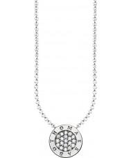Thomas Sabo KE1493-051-14-L45v Mesdames signature argent zircone classique collier pave