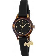 Radley RY2324 Mesdames regardent! noir montre bracelet avec des reflets d'or