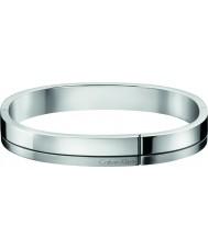 Calvin Klein KJ3PMD09010L Hommes construit argent bracelet en acier ton