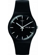 Swatch SUOB720 New gent - mono black watch