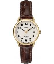 Timex T20071 Mesdames brun facile de montres de lecture naturelle