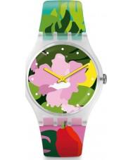 Swatch SUOK132 Montre de jardin tropical pour dames